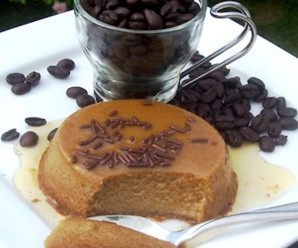 Coffee Flan- Flan de Cafe