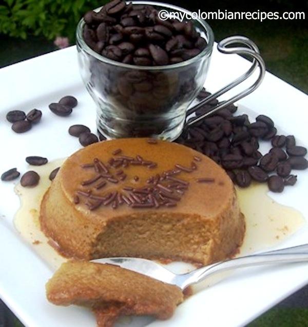 Coffee Flan- Flan de Cafe
