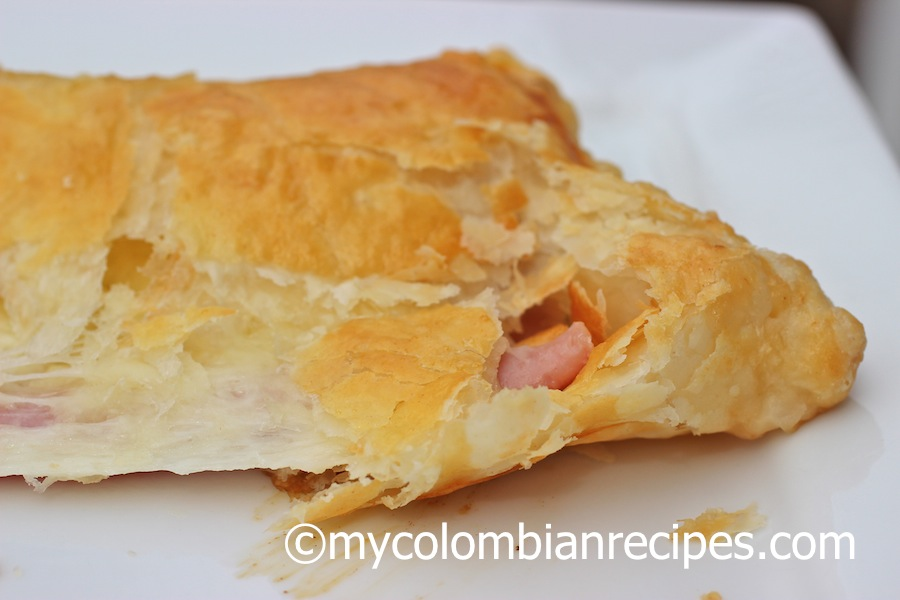 Pasteles de Jamón y Queso (Ham and Cheese Pastries)