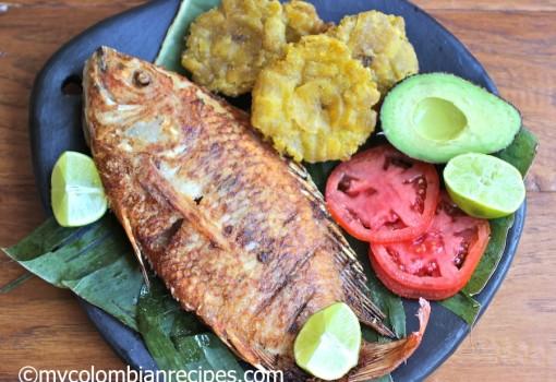 La Chamba Pescado Frito Colombiano (Colombian-Style Fried Whole Fish)