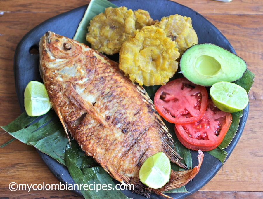 La Chamba Pescado Frito Colombiano (Colombian-Style Fried Whole Fish)