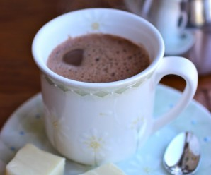 Chocolate Caliente con Agua (Hot Chocolate with Water)