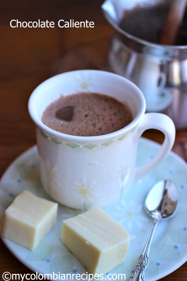 Chocolate Caliente Con Agua Hot Chocolate With Water