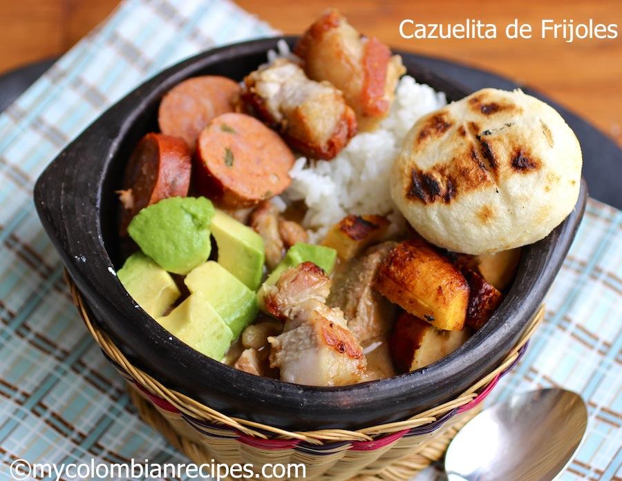 Cazuelita de Frijoles (Colombian Beans Cazuela)