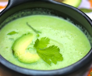 Crema de Aguacate (Colombian Creamy Avocado Soup) |mycolombianrecipes.com