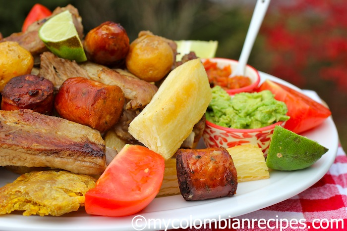 Fritanga O Picada Colombiana Fried Food Platter My