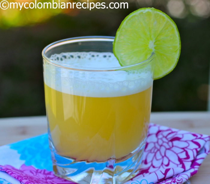 Aguardiente Sour-Colombian Recipes