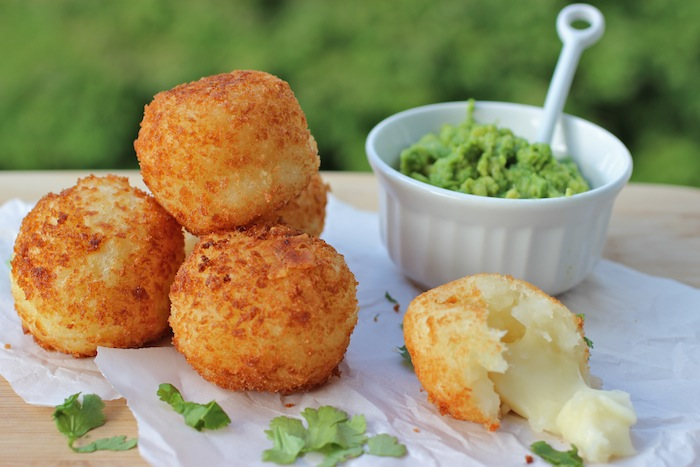Colombian Recipes-Bolitas de Yuca