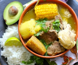 Soups recipes sopas my colombian recipes sancocho trifasico forumfinder Gallery