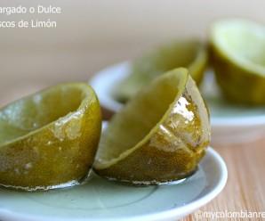 Dulce de Cascos de Limón (Candied Lime Shells)