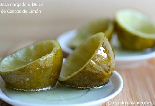 "<span class=""p-name"">Dulce de Cascos de Limón (Candied Lime Shells)</span>"
