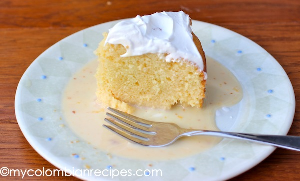 Colombian Tres Leches Cake Recipe