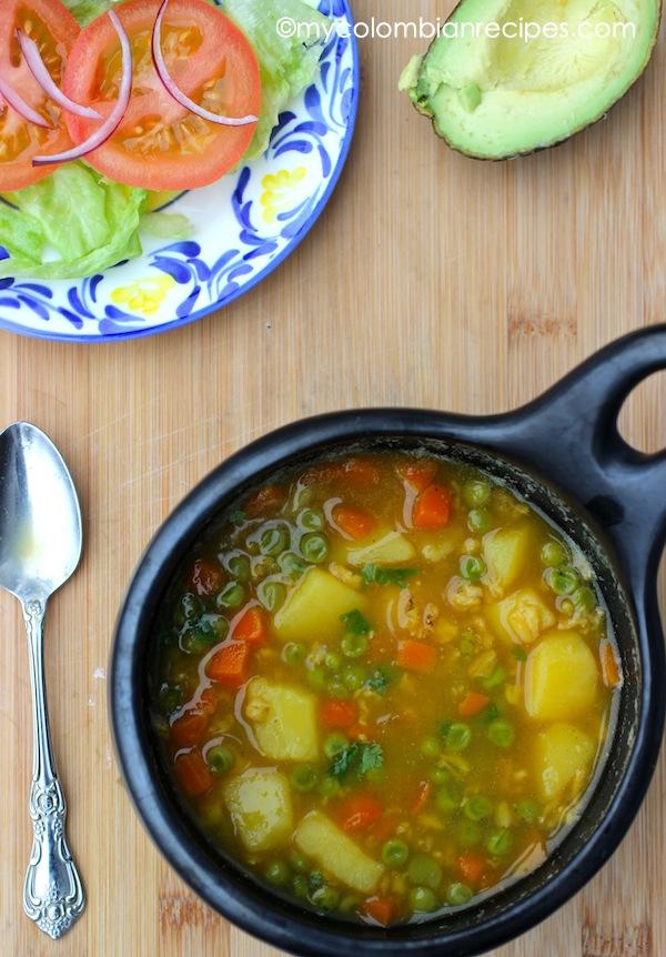 Sopa de Avena (Oatmeal Soup)