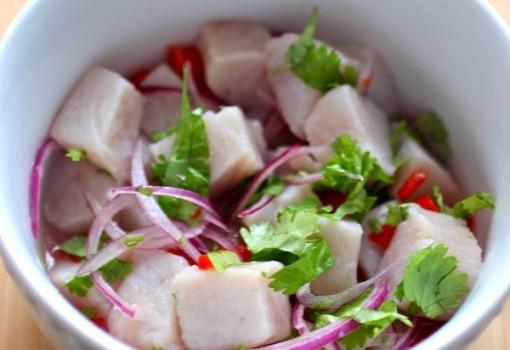 """<span class=""""p-name"""">Ceviche de Pescado (Colombian-Style Fish Ceviche)</span>"""