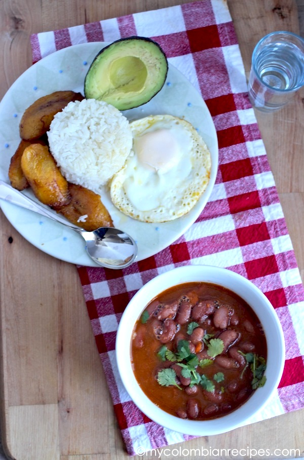Frijoles Rojos Colombianos (Colombian-Style Red Beans)