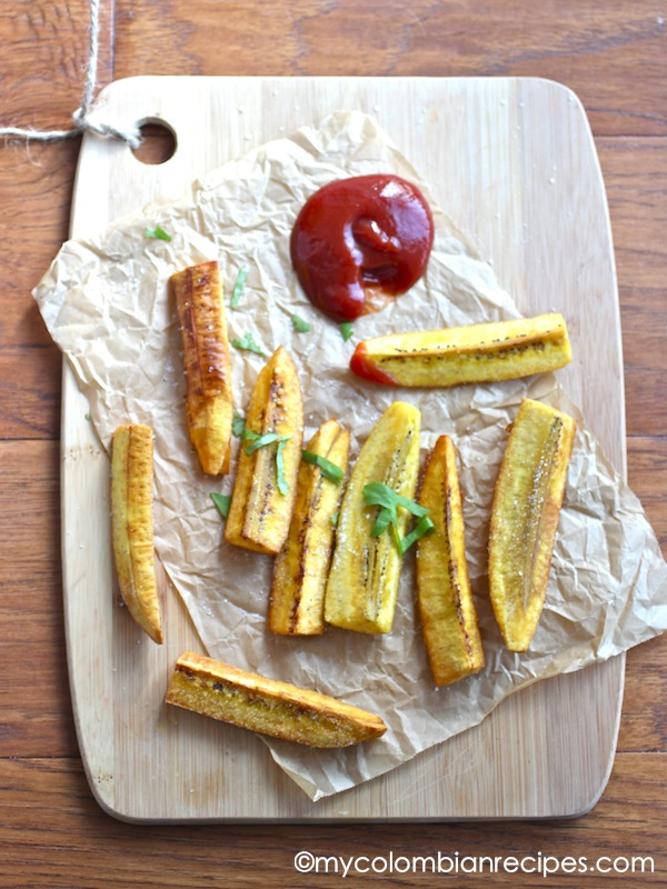 Plátano Verde or Green Plantain Fries