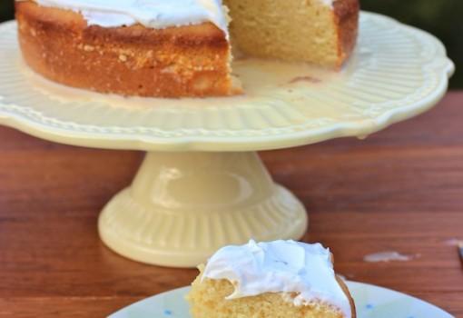 Tres Leches de Mandarina (Tangerine Three Milks Cake)