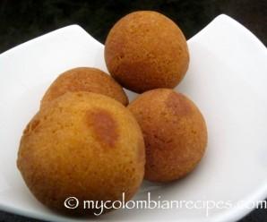 Receta Bunuelos Colombianos
