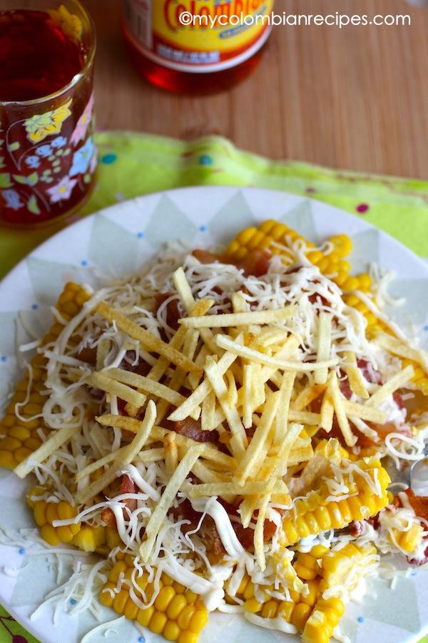 Mazorca Desgranada (Corn Kernels Snack)