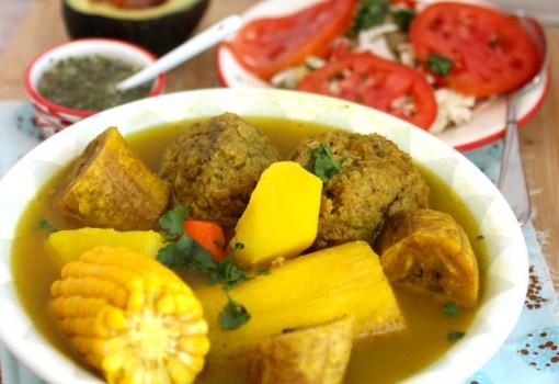 Sancocho de Albóndigas (Meatball Soup)