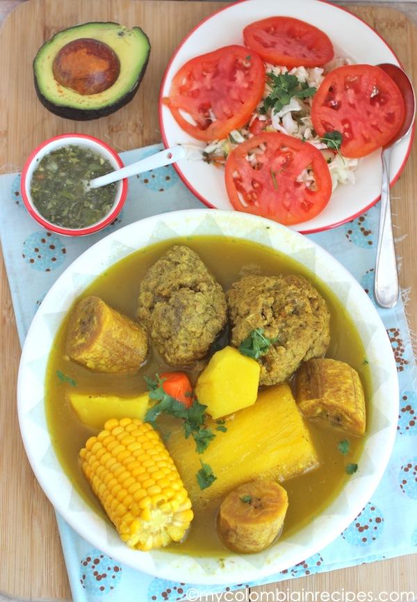 Sancocho de Albondigas (Meatball Soup)