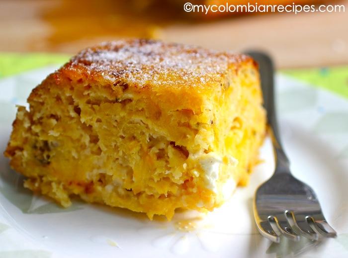 Ripe Plantain Cake Recipe