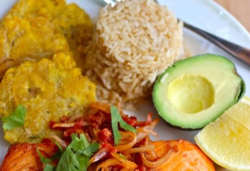 """<span class=""""p-name"""">Pescado a la Criolla (Fish with Creole Sauce)</span>"""
