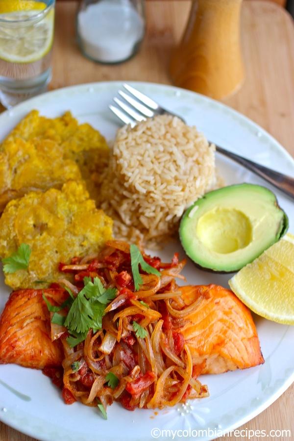 Pescado A La Criolla Fish With Creole Sauce My