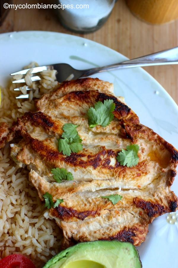 Pollo a la Plancha (Colombian-Style Grilled Chicken Breast)