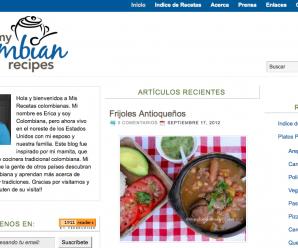 Receta s Colombianas en Español