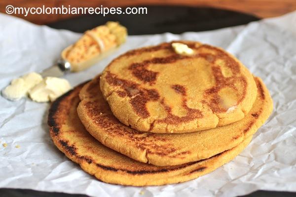 Arepas Carisecas (Sweet Arepas)