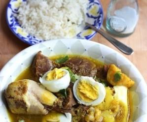 Pusundao de Carne Serrrana (Salted Beef Stew)