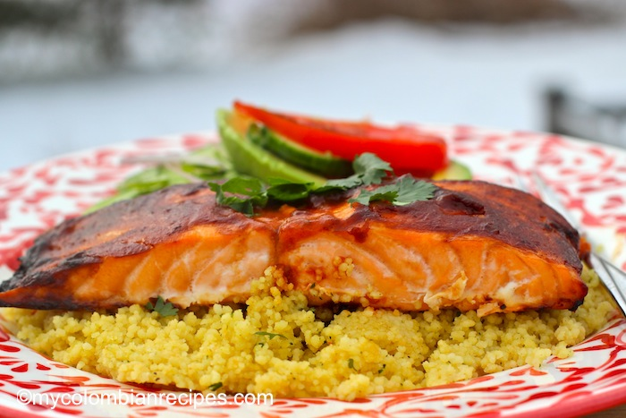 Spicy Chipotle Salmon