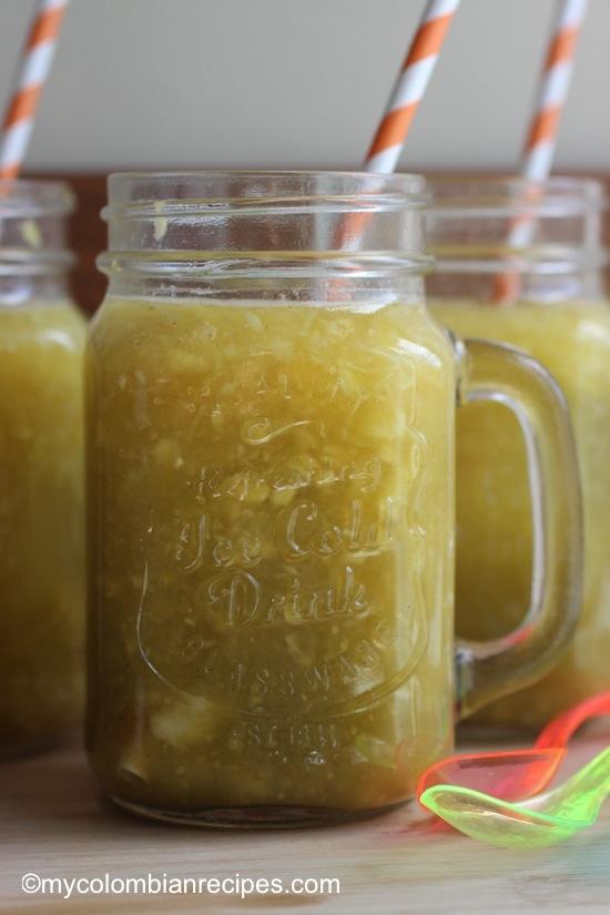 Champús (Lulo, Pinneaple and Corn Drink)