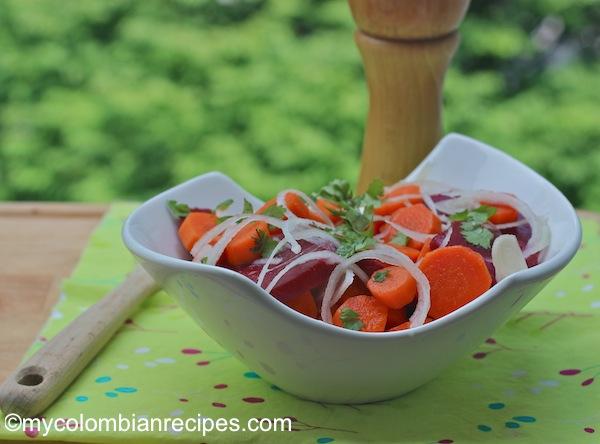 Ensalada de Zanahoria y Remolacha (Carrot and Beet Salad)