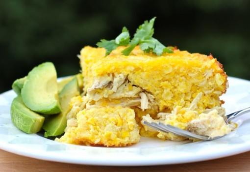 "<span class=""p-name"">Pastel de Choclo y Pollo (Corn and Chicken Cake)</span>"
