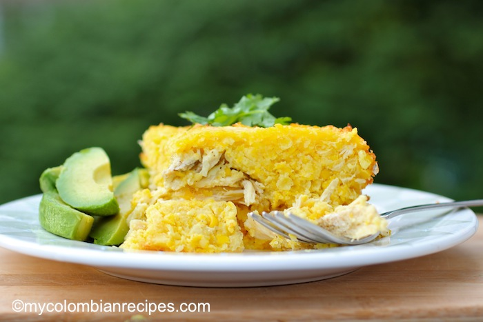 Pastel de Choclo y Pollo (Corn and Chicken Cake)