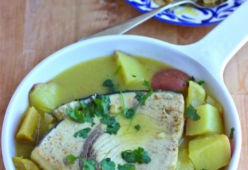 Tapao de Pescado (Fish Stew)|www.mycolombianrecipes.com