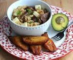 Arroz Atollado con Carne Ahumada (Rice with Smoked Beef)