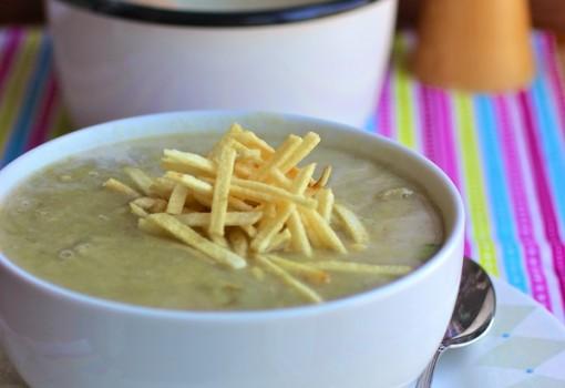 """<span class=""""p-name"""">Crema de Alcachofas (Artichokes Creamy Soup)</span>"""