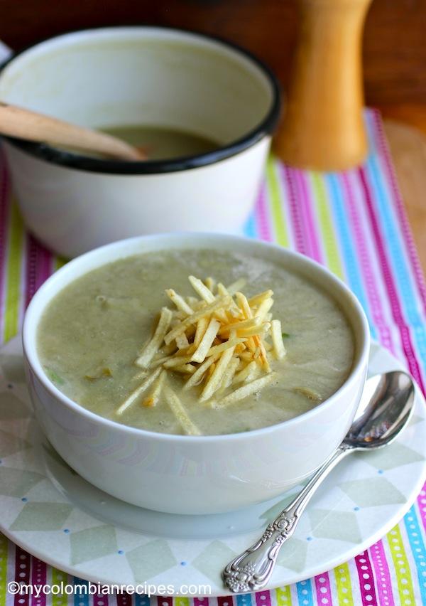 Crema de Alcachofas (Artichokes Creamy Soup)