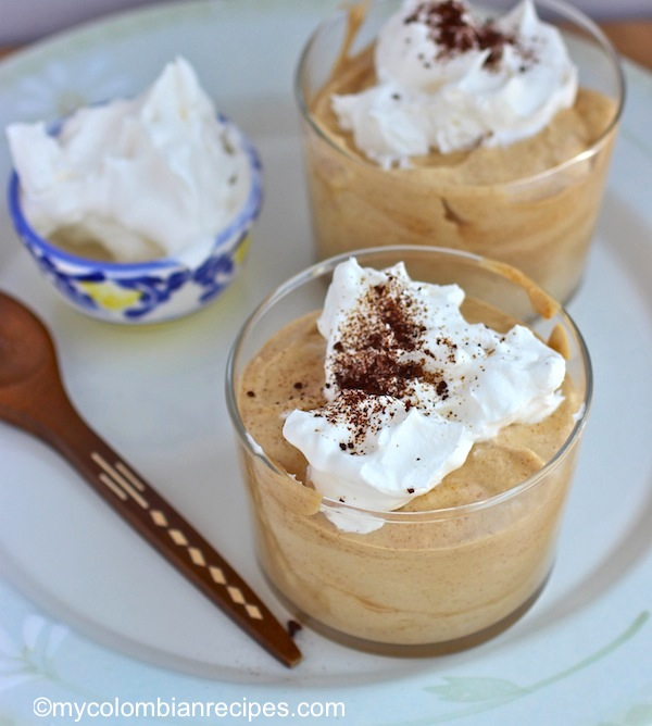 Esponjado de Café ( Colombian Coffee Mousse)