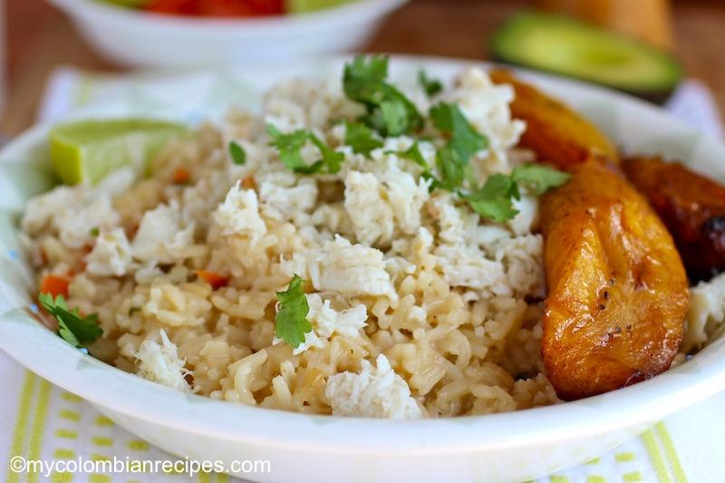 Arroz Atollado de Cangrejo ( Crab and Coconut Rice)