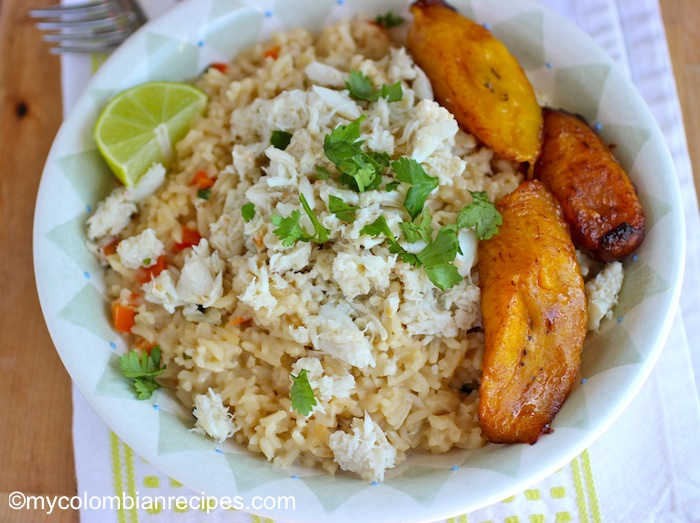 Arroz Atollado de Cangrejo (Creamy Crab and Coconut Rice)