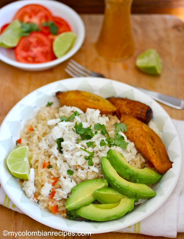Arroz Atollado de Cangrejo (Crab and Coconut Creamy Rice) |mycolombianrecipes.com