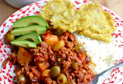 Chorizo and Beef Picadillo|This is a variation of the Cuban style beef picadillo|mycolombianrecipes.com