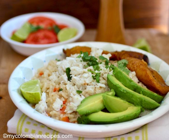 Arroz Atollado de Cangrejo (Creamy Coconut and Crab Rice)