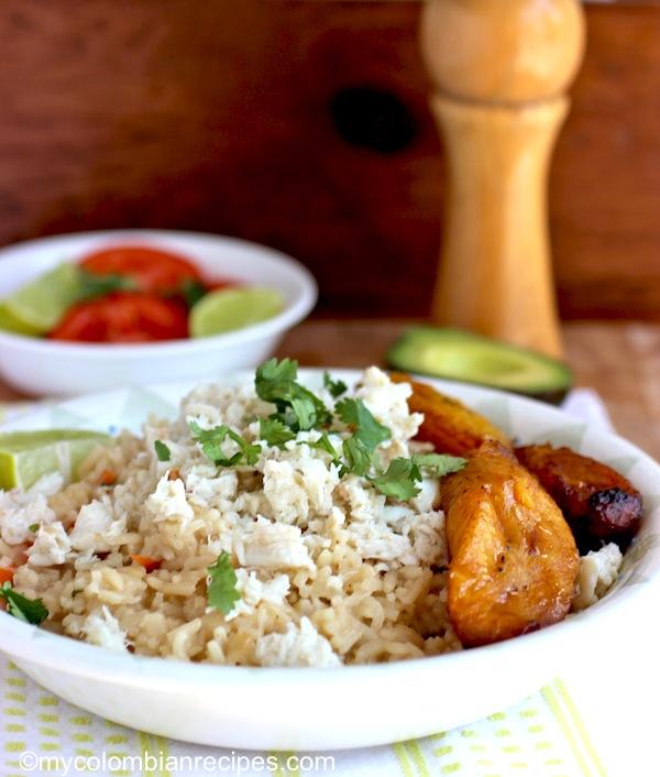 Arroz Atollado de Cangrejo (Crab and Coconut Creamy Rice)