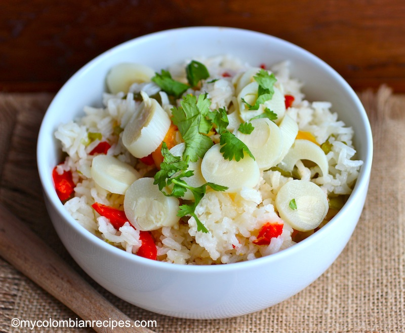 Arroz con Palmitos (Rice with Hearts of Palms)