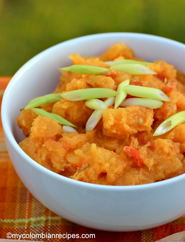 Poteca de Ahuyama (Colombian-Syle Pumpkin or Squash Mash)